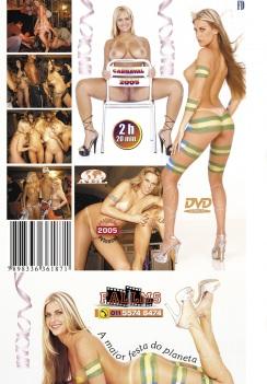 Filme pornô Carnaval 2005 capa de Trás
