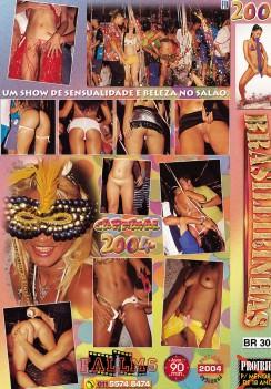 Filme pornô Carnaval 2004 capa de Trás