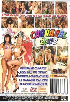 PornCarnaval 2008 Cover Back