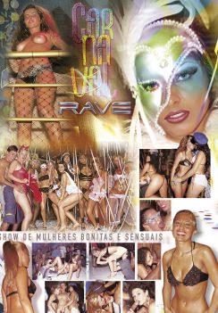 Filme pornô Carnaval Rave 2003 capa de Trás