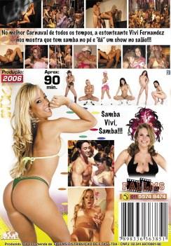 Filme pornô Carnaval 2006 (Vivi Fernandez) capa de Trás