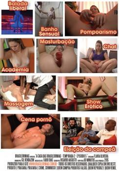 Filme pornô Casa das Brasileirinhas - Temporada 2 capa de Trás