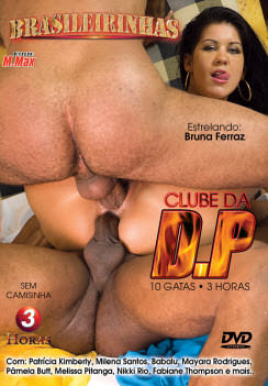 Filme pornô Clube da DP Capa da frente