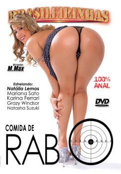 Filme pornô Comida de Rabo Capa da frente