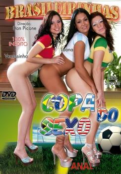 Filme pornô Copa do Sexo Capa da frente