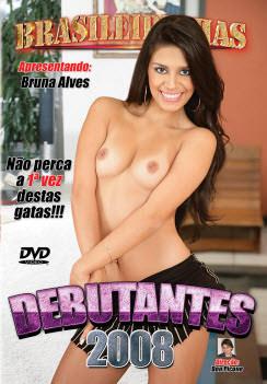 Filme pornô Debutantes 2008 Capa da frente