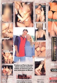 Filme pornô Debutantes do Sul capa de Trás