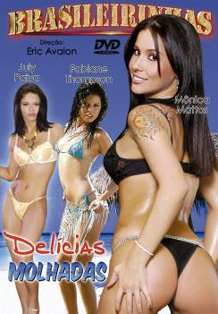 Filme pornô Delicias Molhadas Capa da frente