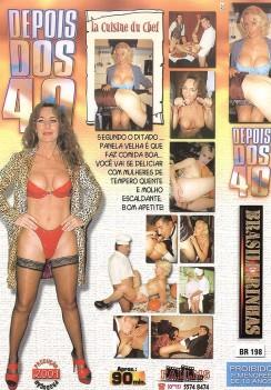 Filme pornô Depois dos 40 A Cusinha do Chefe capa de Trás
