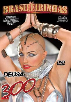 Filme pornô Deusa 300 Capa da frente