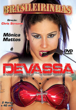 Filme pornô Devassa Capa da frente