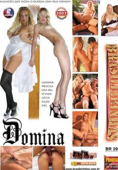 Filme pornô Domina capa de Trás