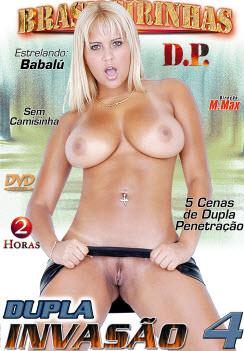 Filme pornô Dupla Invasão 4 Capa da frente