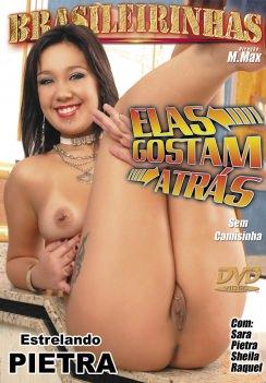 Filme pornô Elas Gostam Atrás Capa da frente