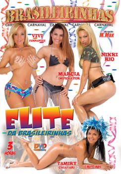 Filme pornô Elite das Brasileirinhas Capa da frente