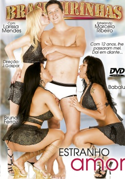 Filme pornô Estranho Amor Capa da frente