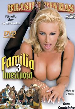 Filme pornô Família Incestuosa 3 Capa da frente