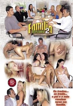 Filme pornô Família Incestuosa 2 capa de Trás