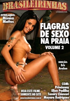 Filme pornô Flagras de Sexo na Praia 2 Capa Hard