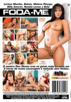 Filme pornô Foda Me 2 capa de Trás