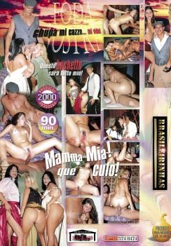 Filme pornô Foda Nostra capa de Trás