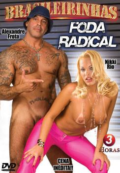 Filme pornô Foda Radical Capa da frente