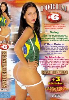 Filme pornô Forum Brasileirinhas 6 Capa da frente