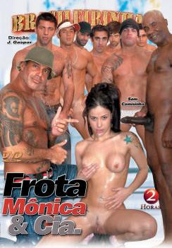 Filme pornô Frota, Monica e cia Capa da frente