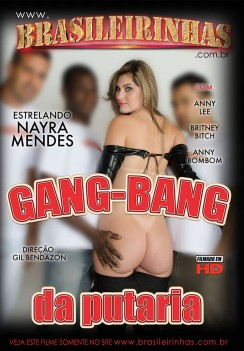 Filme pornô GangBang da Putaria Capa da frente
