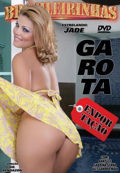 Filme pornô Garota Exportação Capa da frente