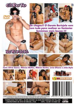 Filme pornô Garoto Berinjela capa de Trás
