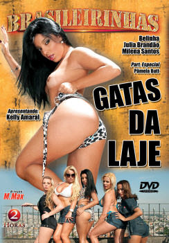 Filme pornô Gatas da laje Capa da frente