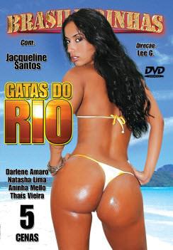 Filme pornô Gatas do Rio Capa da frente