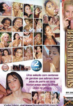 Filme pornô 350 Gozadas capa de Trás