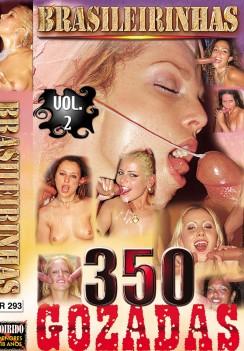 Filme pornô 350 Gozadas Vol. 2 Capa da frente