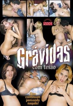 Filme pornô Grávidas com Tesão capa de Trás