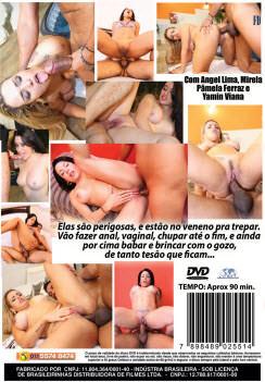 Filme pornô Hoje Eu To No Veneno capa de Trás