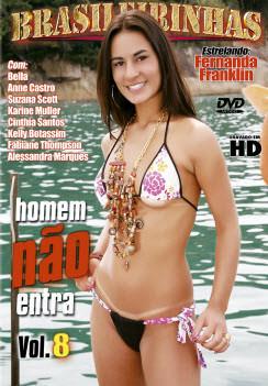 Filme pornô Homem Nao Entra 8 Capa da frente