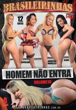 Filme pornô Homem Não Entra 10 Capa Hard