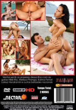 Filme pornô Ilha do Prazer 2 capa de Trás