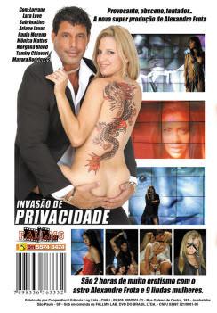Filme pornô Invasão de Privacidade capa de Trás