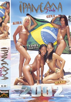 porn Ipanema Girls 2002 Front cover