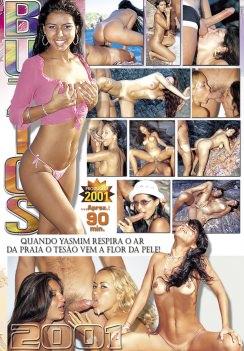 Filme pornô Ipanema Girls Búzios 2001 capa de Trás