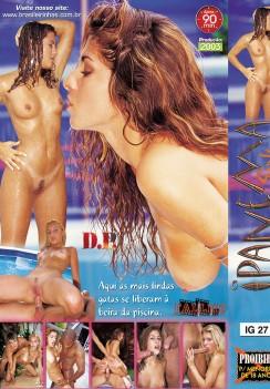 Filme pornô Ipanema Girls Dyane Galisteu capa de Trás