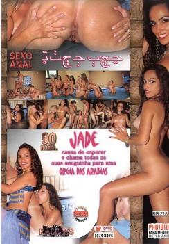 Filme pornô Jade e Seus Amantes capa de Trás