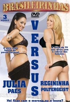 Filme pornô Julia Paes X Regininha Poltergeist Capa da frente