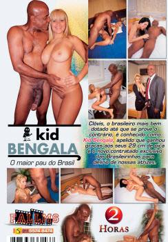 Filme pornô Kid Bengala capa de Trás