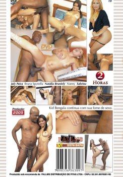 Filme pornô Kid Bengala 4 capa de Trás