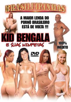Filme pornô Kid Bengala e suas ninfetas Capa da frente