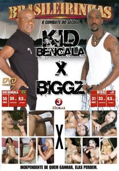 Filme pornô Kid Bengala x BiggZ Capa da frente